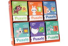 Schoolpack 72 puzz duo animaux