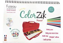 Livre CD Colorzik pianot\