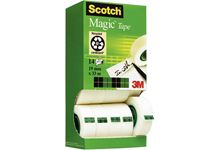 Tour distributrice de 14 rouleaux Scotch Magic 19 mm x 33 m dont 2 gratuits.