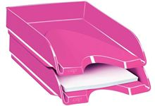 Corbeille a courrier fond plein ceppro gloss rose pepsy
