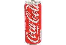 Pack de 24 canettes 33cl COCA COLA SLIM.