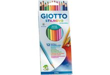 Etui de 12 crayons de couleur Stilnovo aquarellables assortis