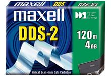 Cart 4mm maxell  120m  4/8go