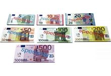 Sachet de 140 billets euros factices