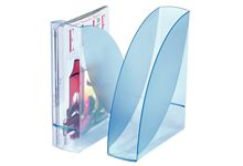 Porte-revues Ice blue transparent