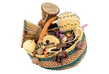 Panier Africain 8 Instruments