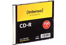 Paquet de 10 CD-R Intenso 700 Mo.