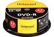 Spindle de 25 DVD-R imprimable Intenso 4,7 Go
