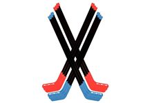 Lot de 12 Crosses de Hockey Hauteur 90 cm