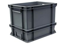 Bac de manutention palettisable 40x30x29cm 25 litres.