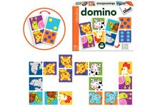 Domino Double Animaux et Points.