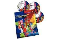 Coffret 3CD Le Monde des Instruments