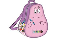 SAC A DOS BABY BARBAPAPA  ROSE