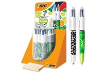 Stylo 4 couleurs velours