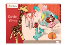 Puzzles 3D Circus Fille