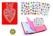 Carnet stickers 11x15,5 aurelia nd19