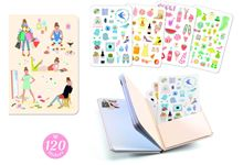 Carnet stickers 11x15,5 tinou nd19