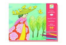 Crayons aquarellables echappees belles nd18