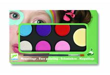 Palette maquillage 6 couleurs effet metal nd16