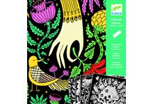 Coloriage velours fabuleuse contree nd16