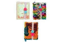 Mini carnet 10x7 sequins réversibles