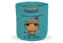 Sac a jouets chevalier