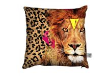 Coussin 45x45 lion nd15