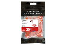 Nanoblock mini serie flamant rose