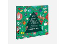 Poster & stickers christmas 100 x 70 cm