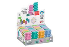 Maxi gomme STEPS pastel