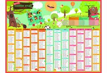 CALENDRIERS ARDOISE ADDITIONS 32 X 42 CM