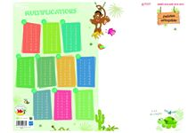 CALENDRIERS ARDOISE MULTIPLICATIONS 32 x 42 cm