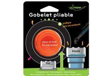 Blister 1 gobelet pliable design by ulmann
